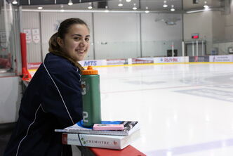 Danielle Krzyszczyk, 16, is the only Manitoban at Hockey Canada's U18 Team Canada selection camp.