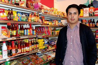 Jesse Lemus, son of Mercadito Latino owners Julian and Sonia, said the restaurant also sells Latin American products.