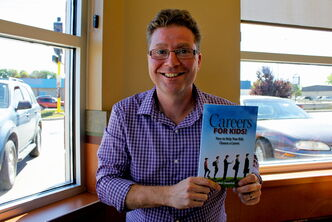 Robert Shewchuk hopes to give advice to youngsters with his new book, Careers For Kids!