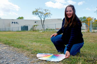 St. James artist Mandy van Leeuwen will work with youth at Brooklands School to add a mural to the back wall of Eldon Ross Pool.