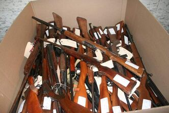 Over 700 firearms have been turned in under the Winnipeg Police Service's Pixels for Pistols amnesty program.