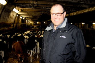 Rosser Holstiens Ltd. co-owner is excited to expand his dairy farm from 400 to 600 head.