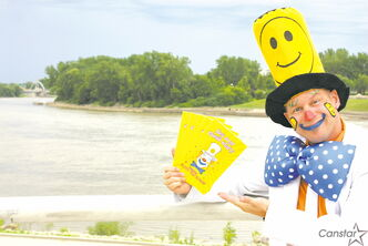 "Floyd ""The Clown"" will be fundraising for St.Amant at Chapters at St. Vital Centre on Nov. 24."