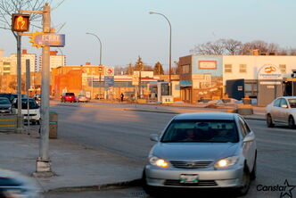 An accident that caused serious injury to an 11-year-old girl at the intersection of Portage Avenue and Ferry Road sparked public requests for safety improvements.