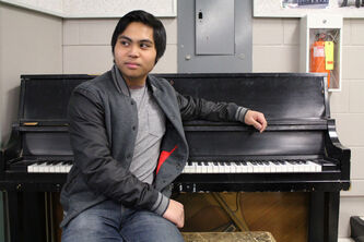 Garden City Collegiate student Nolan De Leon has been playing piano and writing songs since he was two years old. That paid off earlier this month when he took home the top prize at the 2013 Festival Jeune artiste du Manitoba.