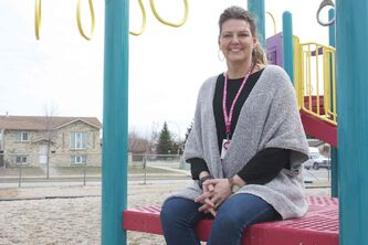 River East Transcona School Division community programming co-ordinator for youth Pam Jansen is up for a Women of Distinction Award.