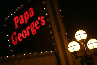 Papa George's is a late-night dining institution.