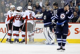 The Jets defence has slipped up recently, as the club has surrendered eight goals in the past two games. The Ottawa Senators potted five on Saturday at the MTS Centre.