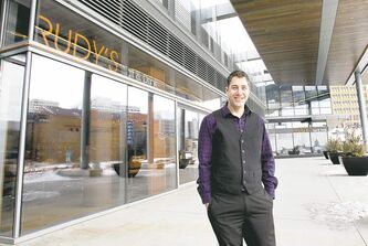 Michael Schafer, owner of Rudy's Eat & Drink, plans to open a 160-seat patio on the Graham Avenue side of the Manitoba Hydro building this summer.