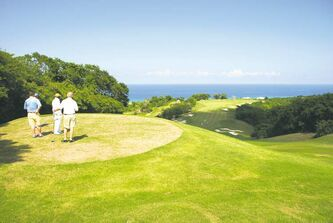 As at White Witch, many of Jamaica�s golf courses overlook the Caribbean Sea.