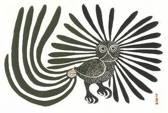 Kenojuak (Enchanted Owl)