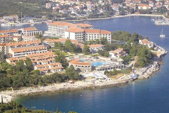 A tourist resort in Pula on Croatia's northern Adriatic coast.