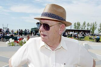 Albert Blake is seen in July, 2004.