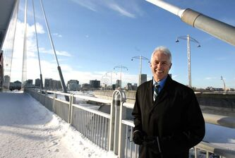 Bill Morrissey of Yes! Winnipeg is confident his group will help create 4,200 new jobs by 2015.