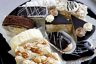 Selection of fresh pastries from Lakomka at 5606 Roblin Blvd- See Marion Warhaft review- Jan 06 , 2014   (JOE BRYKSA / WINNIPEG FREE PRESS)