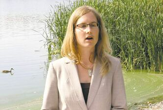 WAYNE GLOWACKI / WINNIPEG FREE PRESS Diane Orihel, the study's lead author, says Experimental Lakes Area research, which the Harper government has shut down, is needed to combat microcystin.