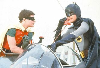 Holy decades, Batman! Has it really been 35 years since the film came out? To celebrate, Batman: The Movie is being re-released next Tuesday on DVD. And no one is happier than Adam West. The actor says he�s