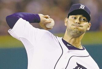 Right-hander Anibal Sanchez gets a five-year, $80-million deal from the Tigers.
