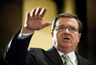 Finance Minister Jim Flaherty speaks about the budget in Toronto. THE CANADIAN PRESS/Aaron Vincent Elkaim