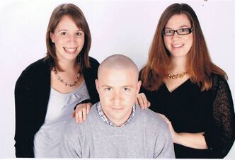 Aron Firman is shown with his sisters Gemma Firman, left, and Samantha Firman in this undated family handout photo. Aron Firman, a man with schizophrenia, died in June 2010 after an encounter with Ontario Provincial Police in Collingwood, Ont. THE CANADIAN PRESS/HO