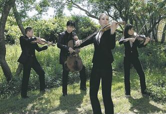 Attacca Quartet members share a love of string quartets and Haydn.