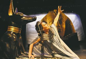 Tiziana  Carraro plays Amneris in Manitoba Opera's  production of Aida.