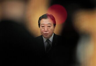 "Japanese Prime Minister Yoshihiko Noda speaks during a news conference with foreign media at his official residence in Tokyo Saturday, March 3, 2012. Noda acknowledged Saturday the government failed in its response to last year's earthquake and tsunami, being too slow in relaying key information and believing too much in ""a myth of safety"" about nuclear power. (AP Photo/Itsuo Inouye)"