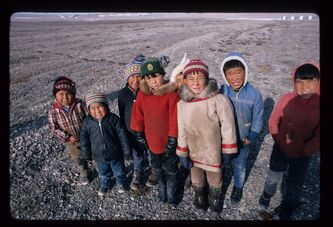 Arctic Defenders tells the story of Inuit families routinely shuffled throughout the North by  the Canadian  government.