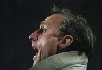 Johan Cruyff is famous for shooting his mouth off, anywhere, anytime.