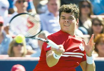 Milos Raonic became Canada's first men's singles player to break into the Top 10 of world ATP rankings Monday, after finishing second in the Rogers Cup.