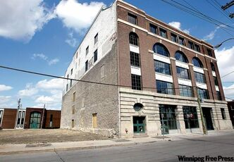 Sport Manitoba recently moved into the former Smart Bag Company building on Pacific Avenue in the warehouse district.