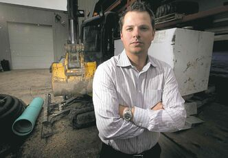 M & L CEO Reece Tomlinson blames a Crown corporation for the firm's predicament.