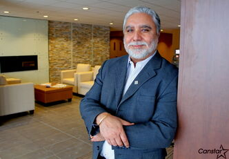 You'd hardly recognize the old Maryland Hotel based on its new interior. Amarjeet Warraich (pictured) and his brother-in-law Baljinder Randhawa, spent close to $2 million renovating the space.