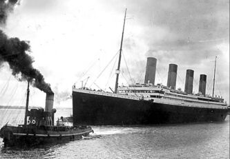 The Titanic leaving Southampton on her ill-fated maiden voyage on April 10, 1912. A century on since the grandest liner ever built sank to the bottom of the ocean on its maiden voyage, the legend of the Titanic still captivates the imagination the world over.