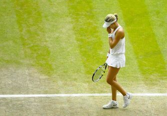 Eugenie Bouchard of Canada was not at her best against Petra Kvitova of Czech Republic during the women's final Saturday. Kvitova demolished Bouchard 6-3, 6-0 in under an hour.