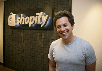 Harley Finkelstein, chief platform officer of the Ottawa-based e-commerce company Shopify, is shown in a handout photo. When web shoppers buy a plush Angry Birds toy, a Foo Fighters or LMFAO T-shirt, or something from Encyclopedia Britannica, it helps fuel Shipfy, a small but growing Ottawa company that once sold snowboards before getting into the e-store business.THE CANADIAN PRESS/HO