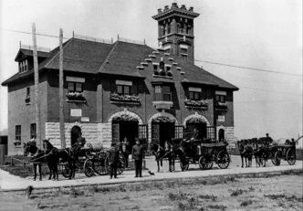 The 100th anniversary of the old St. Vital Fire Hall, at 600 St. Mary's Rd., will be celebrated on May 24.