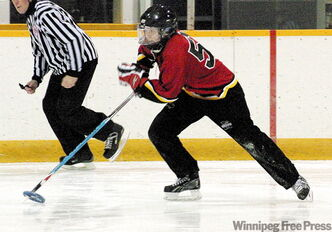 Saara Lahti of Finland moved to Winnipeg to learn the aggressive, Canadian style of ringette.