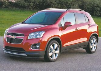 Willy is looking forward to testing out the all-new 2013 Chevrolet Trax, one of 12 new models General Motors has in the running for car of the year.