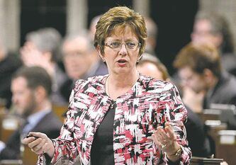 Human Resources Minister Diane Finley: 'It's time to move forward'