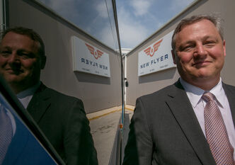 Paul Soubry, President and CEO of New Flyer