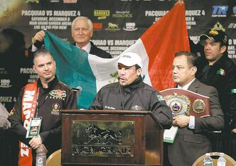 Juan Marquez called it 'the perfect punch' that knocked out Manny Pacquiao in the sixth round Saturday.