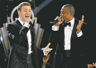 Justin Timberlake and Jay-Z