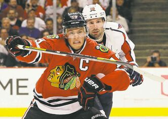 Chicago Blackhawks captain Jonathan Toews makes his NHL debut in Winnipeg this afternoon at the MTS Centre.