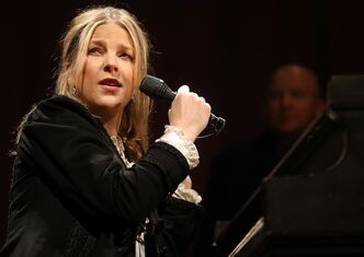 Diana Krall performs at the MTS Centre Saturday.