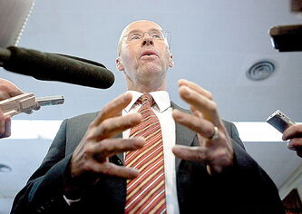 Kevin Page: didn't want job