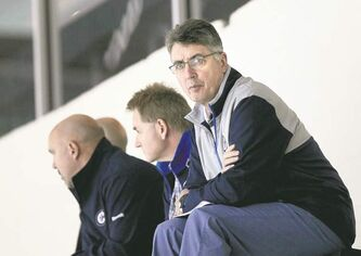 Jets head coach Claude Noel is keeping tabs on the club's future this week while watching the team's young talent at the MTS Iceplex.