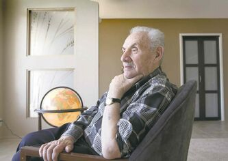 Aron Lieberman, 91, lost his parents and 10 siblings in the Holocaust. After Auschwitz was liberated, he moved to Winnipeg, married and raised a family.