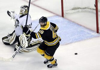 Boston Bruins center David Krejci