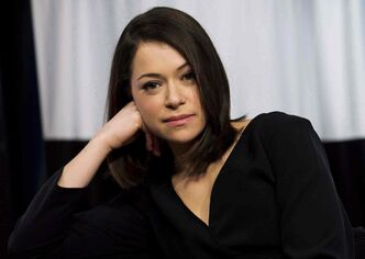 Actor Tatiana Maslany, star of 'Orphan Black.'
